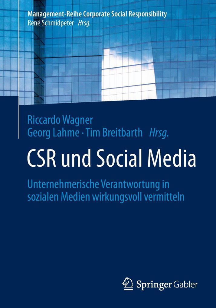 CSR und Social Media als Buch von
