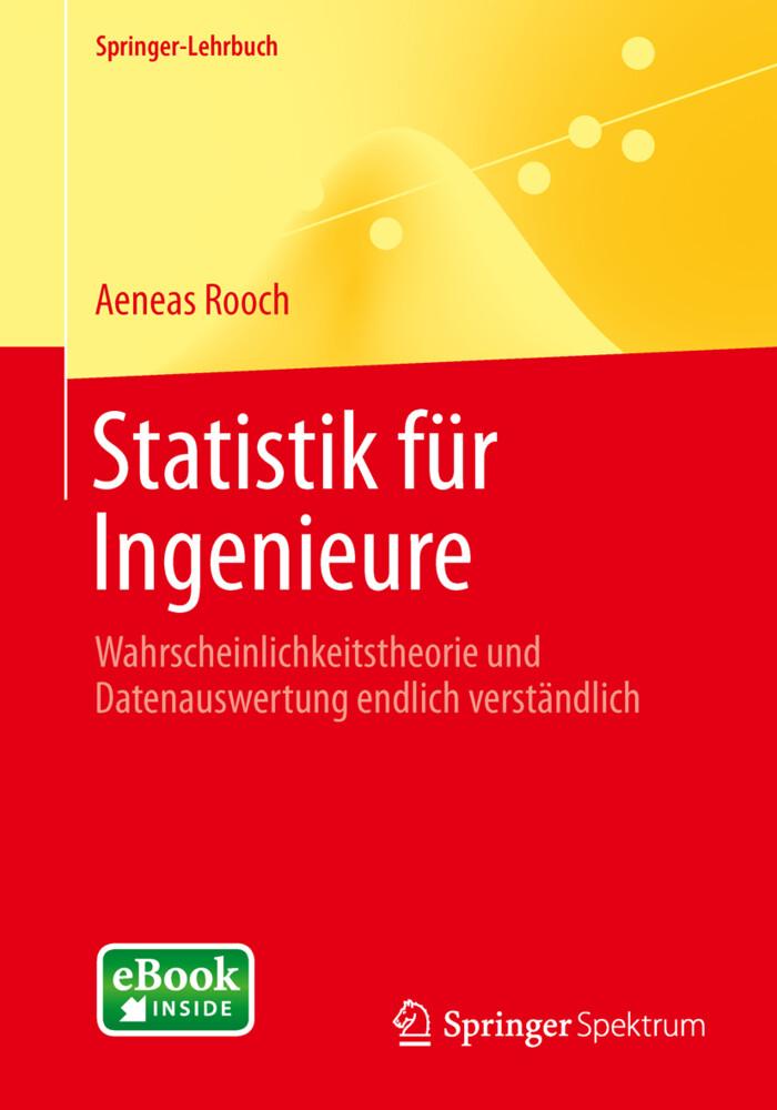 Statistik für Ingenieure als Buch von Aeneas Rooch