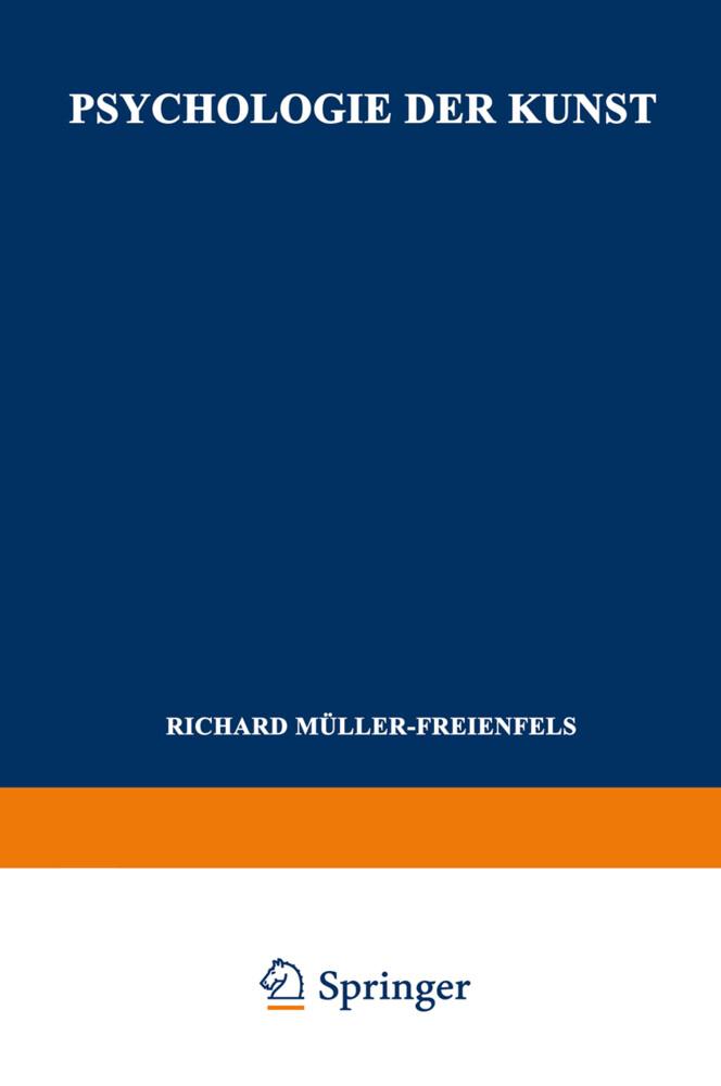 Psychologie der Kunst als Buch von Richard Müll...