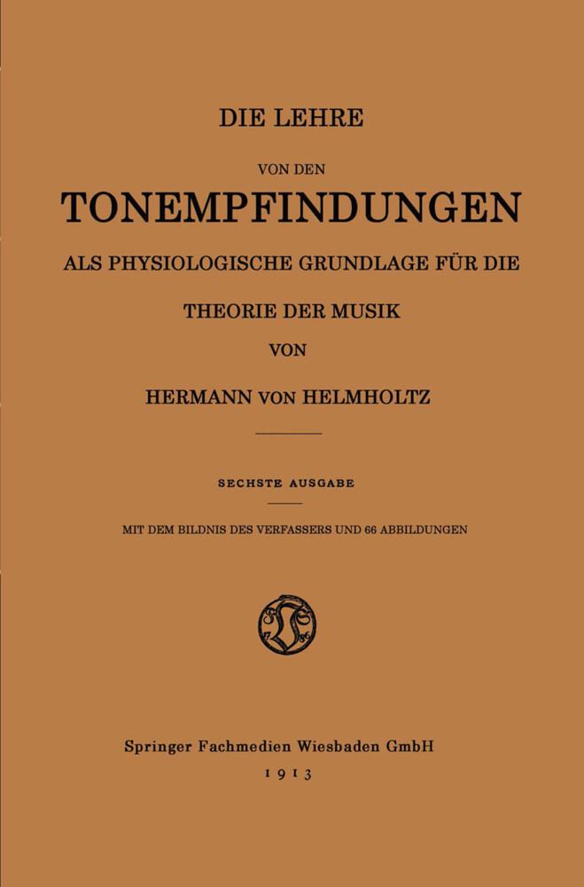 Die Lehre von den Tonempfindungen als Physiolog...