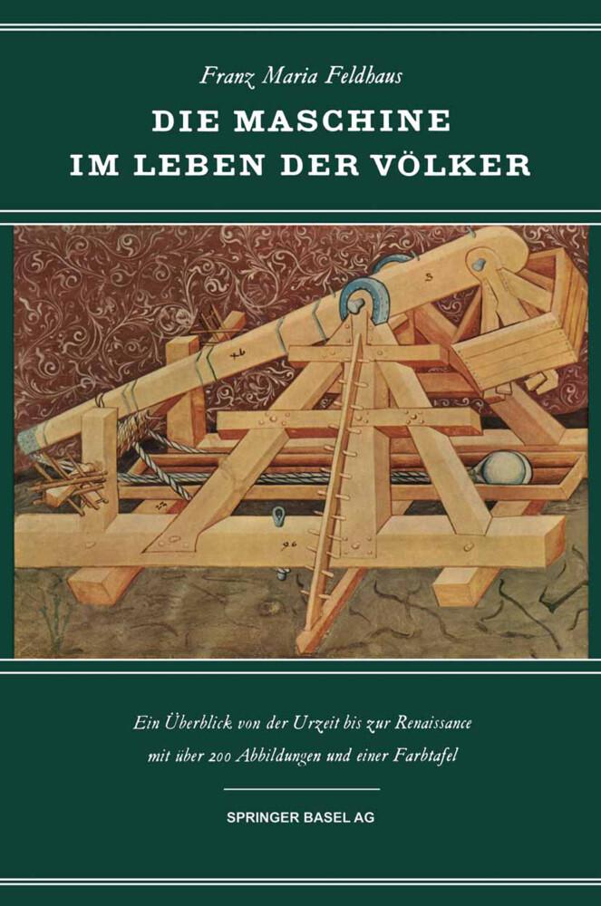 Die Maschine im Leben der Völker als Buch von F...