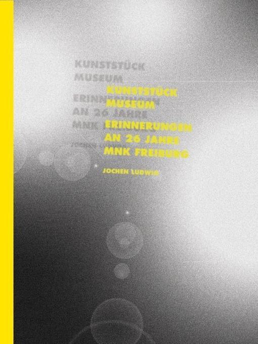 Jochen Ludwig - Kunststück Museum als Buch von ...
