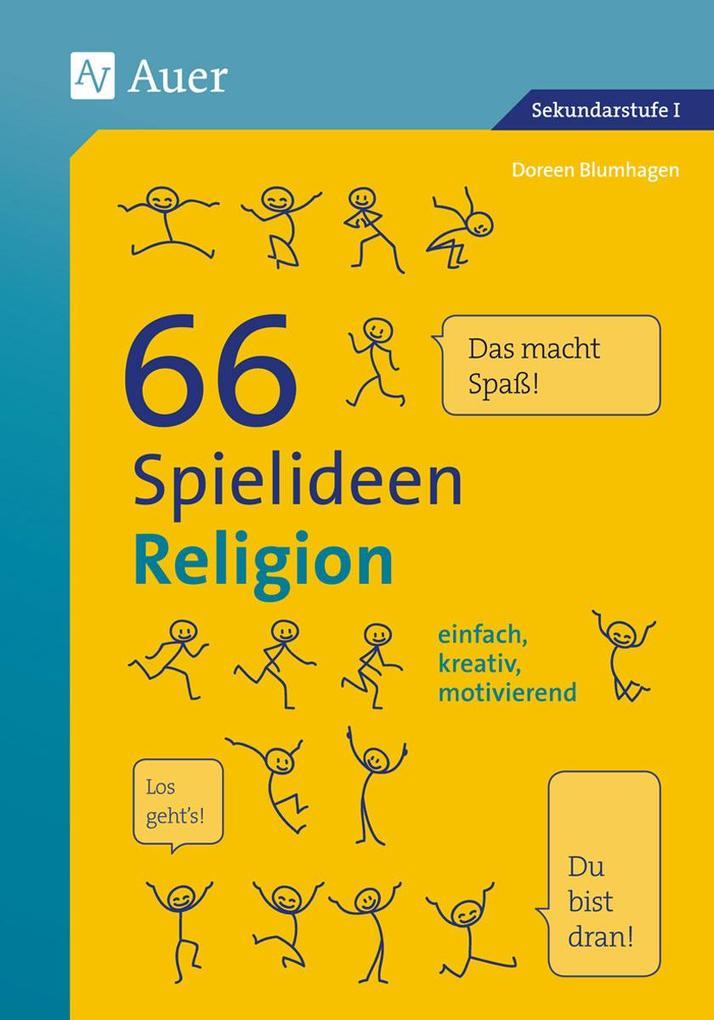 66 Spielideen Religion als Buch von Doreen Blum...
