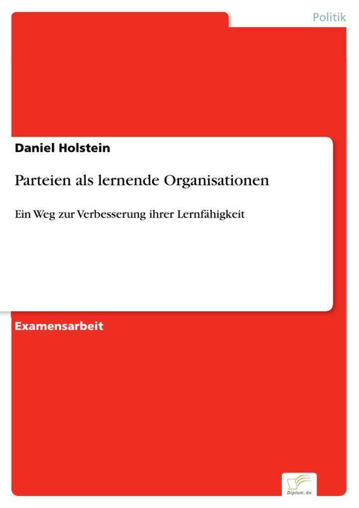 Parteien als lernende Organisationen als eBook ...