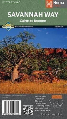 Cairns to Broome 1 : 2 200 000 als Buch von