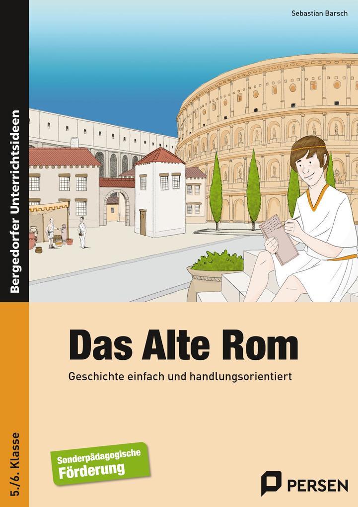 Das Alte Rom als Buch von Sebastian Barsch