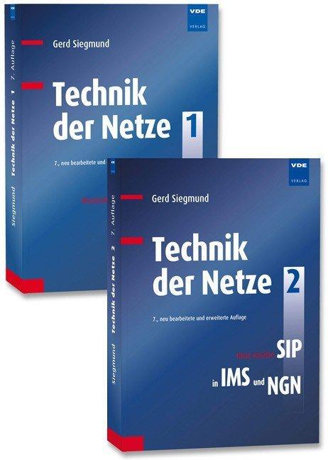Technik der Netze (Set) als Buch von Gerd Siegmund