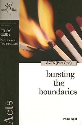 Acts (Part One): Bursting the Boundaries als Taschenbuch