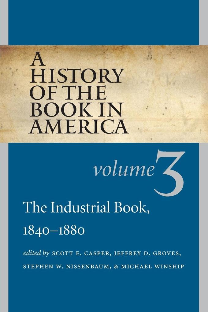 A History of the Book in America als Taschenbuc...