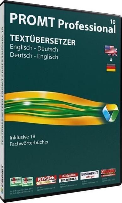 PROMT Professional 10 Englisch-Deutsch