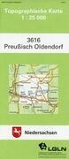 Preußisch Oldendorf 1 : 25 000. (TK 3616/N)
