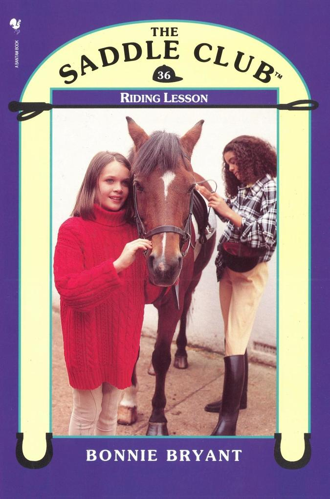 Saddle Club 36: Riding Lesson als eBook Downloa...