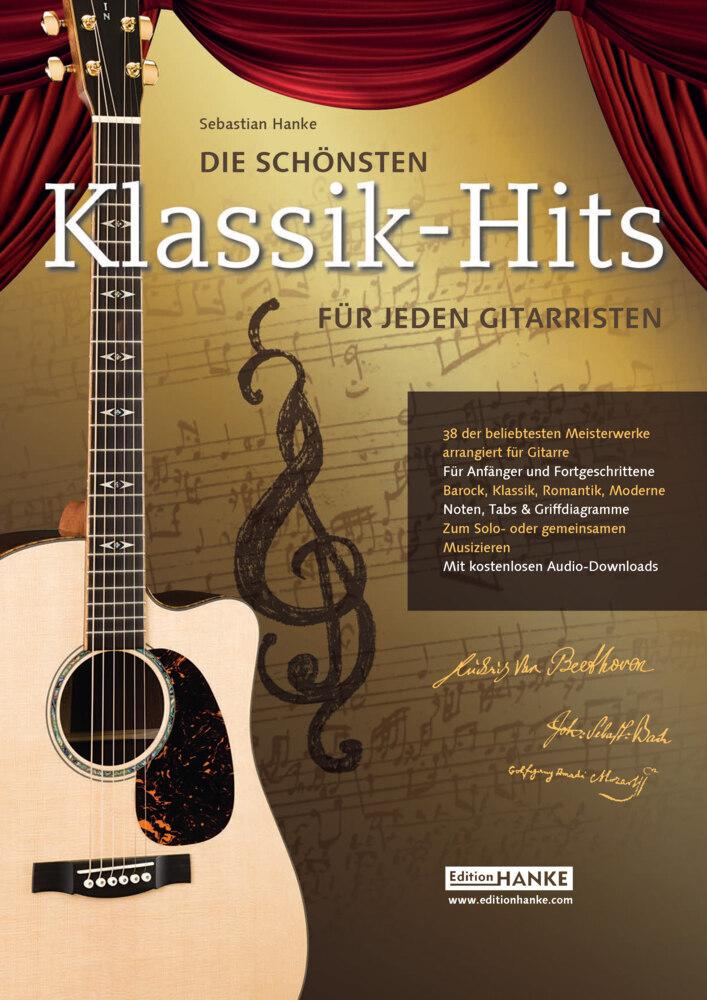 Die schönsten Klassik-Hits für jeden Gitarristen als Buch