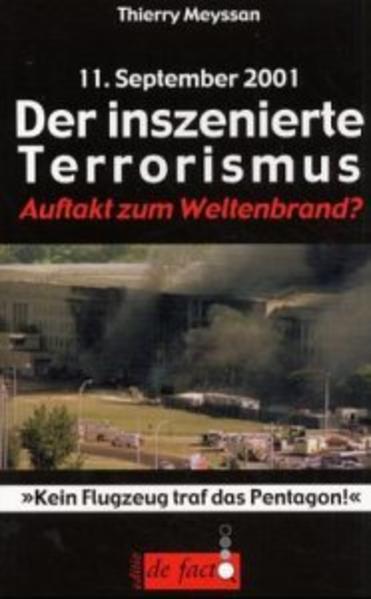 11. September. Der inszenierte Terrorismus als Buch (kartoniert)