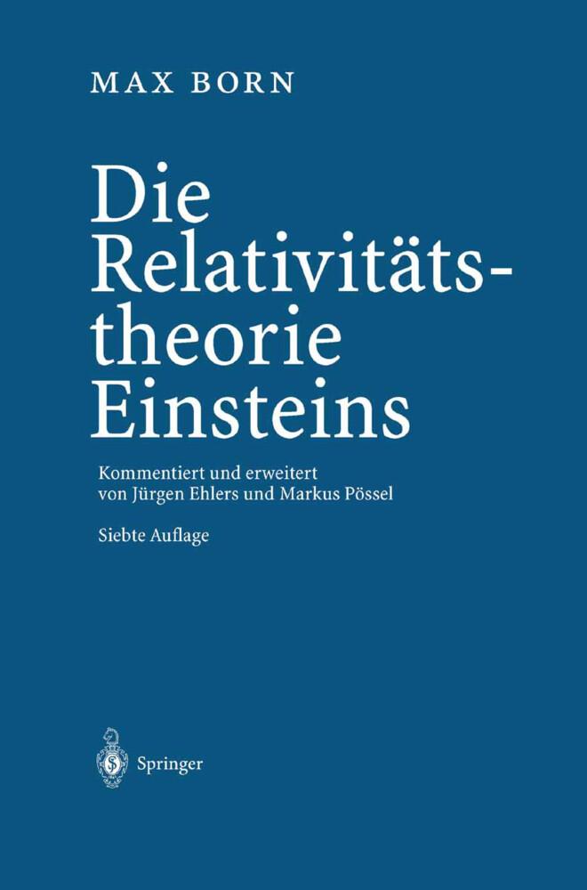 Die Relativitätstheorie Einsteins als Buch