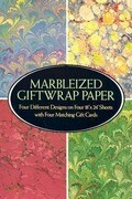 Marbleized Giftwrap Paper
