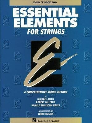 Essential Elements for Strings - Book 2 (Original Series): Violin als Taschenbuch