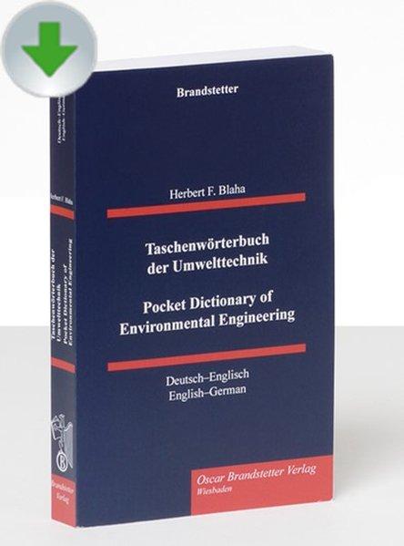 Taschenwörterbuch der Umwelttechnik / Pocket Di...