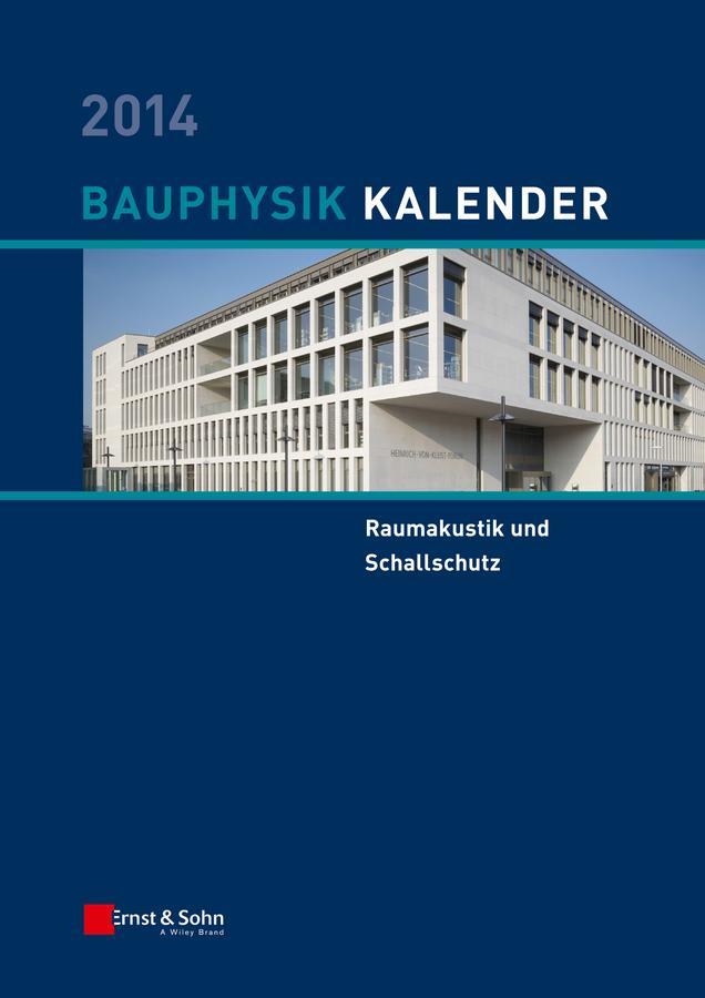 Bauphysik-Kalender 2014 als eBook Download von
