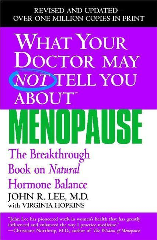 What Your Dr...Menopause als Taschenbuch