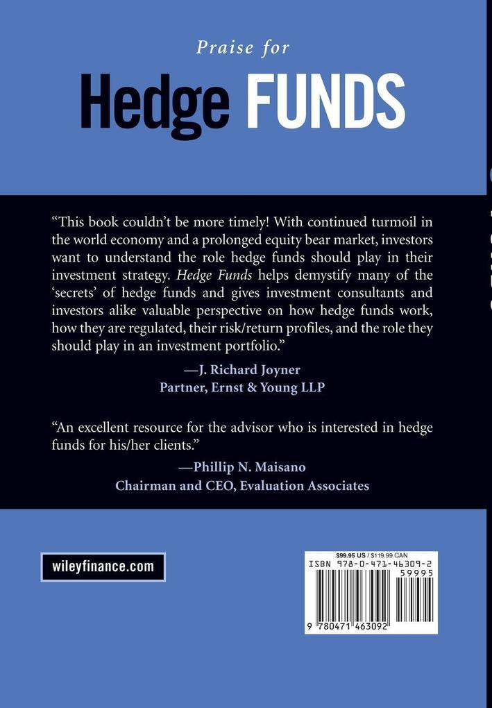 Hedge Funds: Definitive Strategies and Techniques als Buch