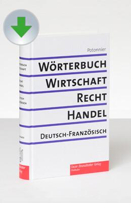 Wörterbuch für Wirtschaft, Recht , Handel / 2 B...