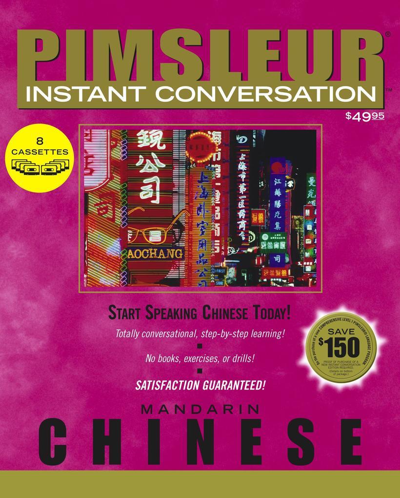 Chinese (Mandarin) als Hörbuch