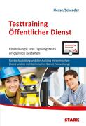 Hesse/Schrader: Testtraining Öffentlicher Dienst