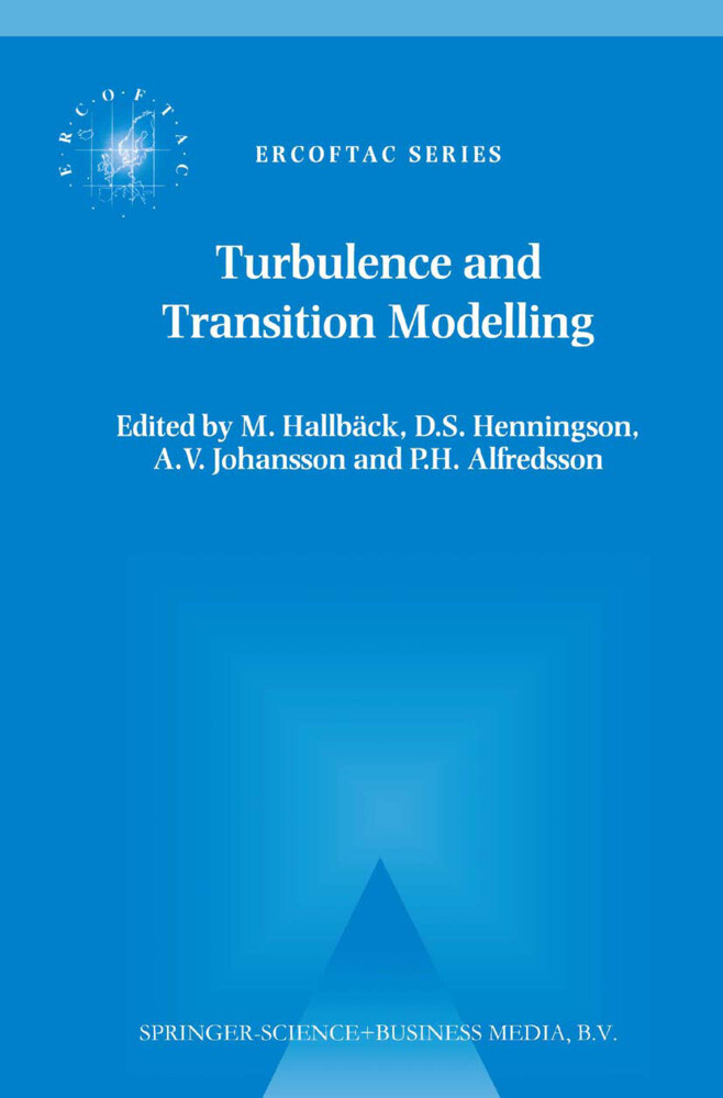 Turbulence and Transition Modelling als Buch