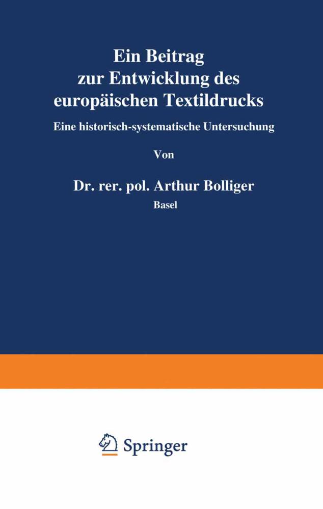 Ein Beitrag zur Entwicklung des europäischen Te...