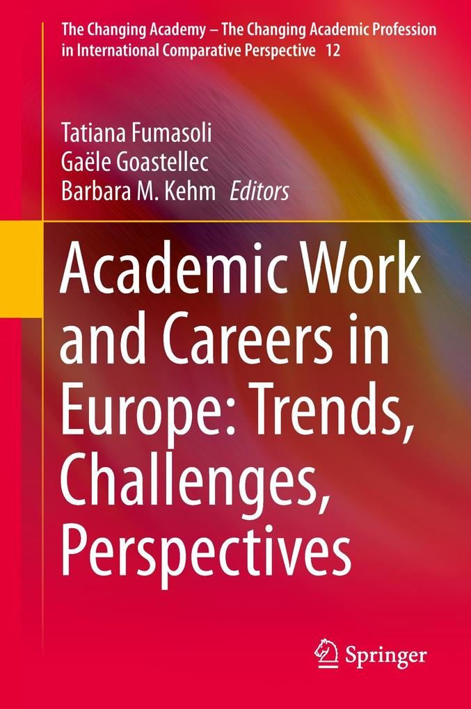 Academic Careers in Europe als Buch von