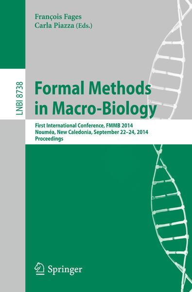 Formal Methods in Macro-Biology als Buch von