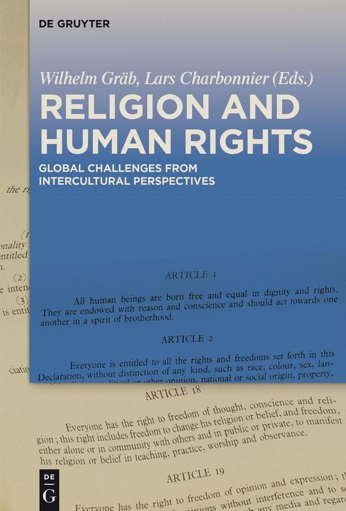 Religion and Human Rights als eBook Download von
