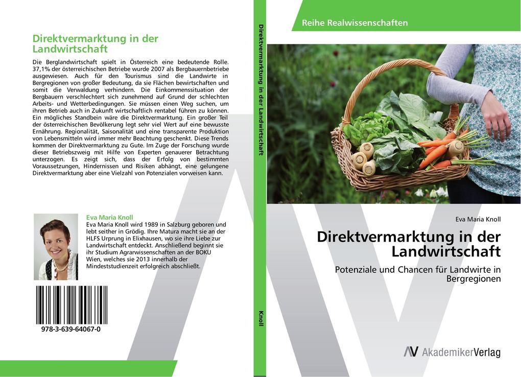 Direktvermarktung in der Landwirtschaft als Buc...