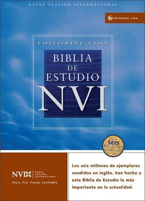 Biblia de Estudio-NVI als Buch