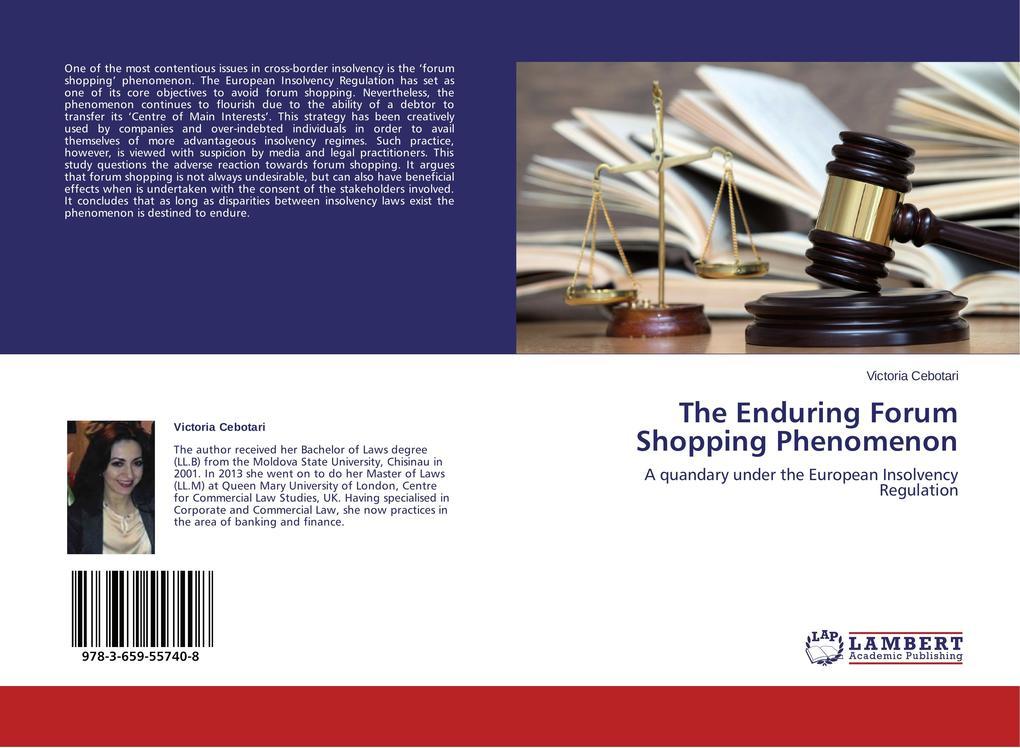 The Enduring Forum Shopping Phenomenon als Buch...
