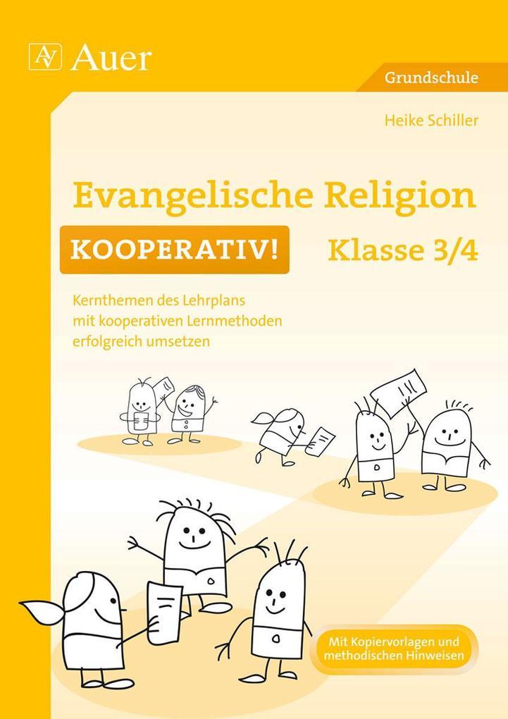 Evangelische Religion kooperativ Klasse 3-4 als...