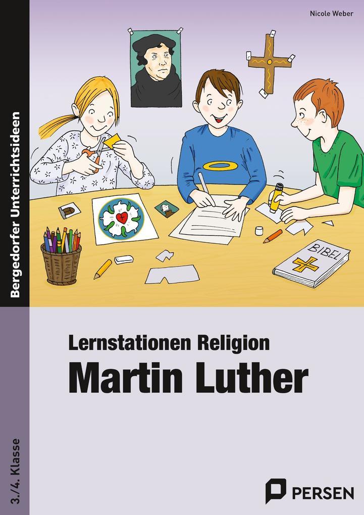 Lernstationen Religion: Martin Luther als Buch ...