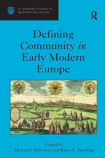 Defining Community in Early Modern Europe als Buch (gebunden)