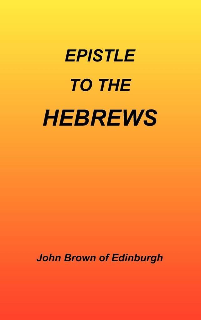Epistle to the Hebrews als Buch