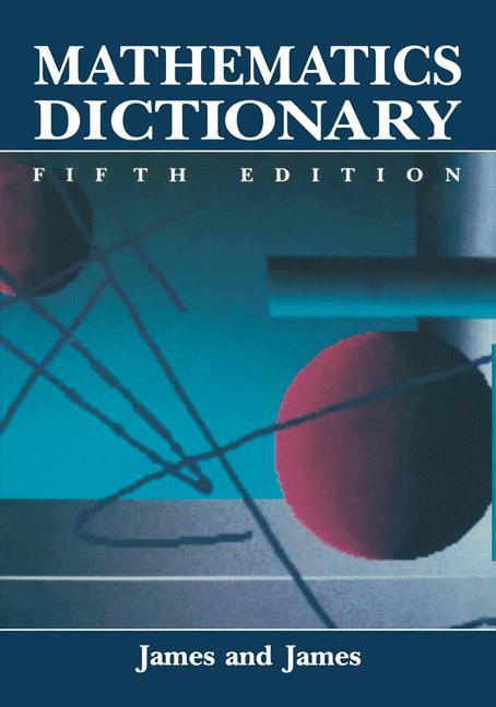 Mathematics Dictionary als Buch