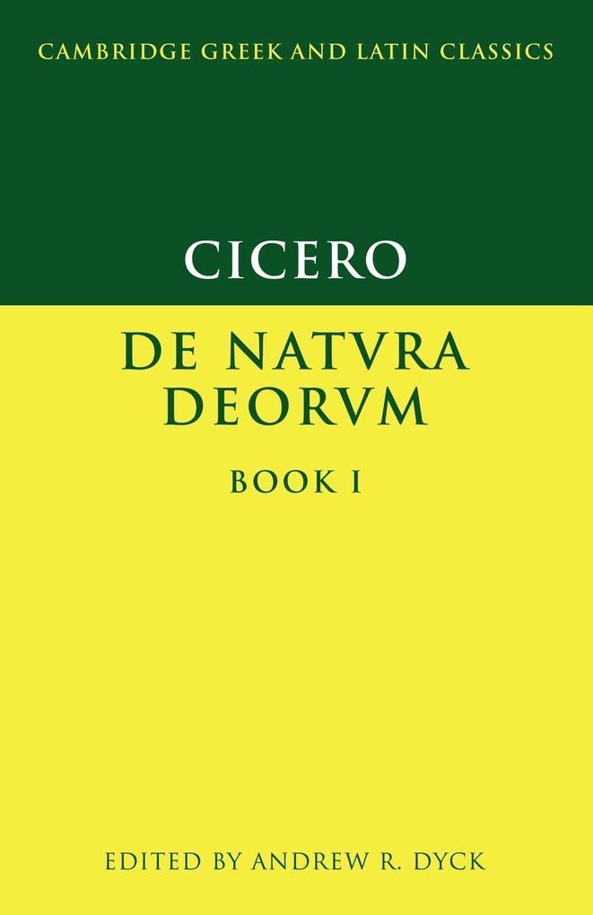 Cicero: de Natura Deorum Book I als Buch