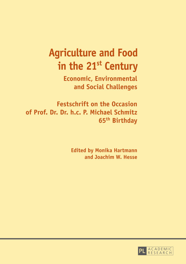 Agriculture and Food in the 21 st  Century als ...