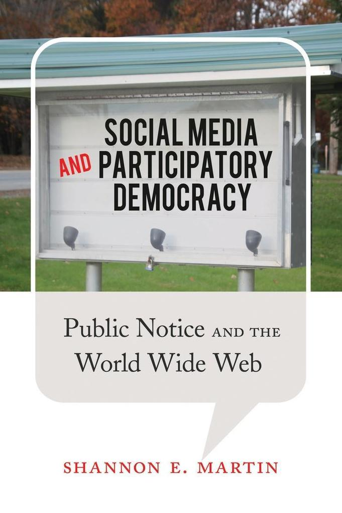 Social Media and Participatory Democracy als Bu...