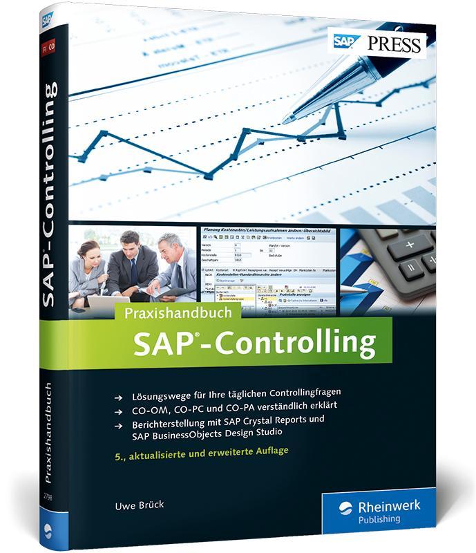 Praxishandbuch SAP-Controlling als Buch von Uwe...