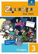 Zahlenzorro - Das Heft. Forderheft 3