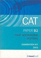 COST ACCOUNTING SYSTEMS B2 als Taschenbuch