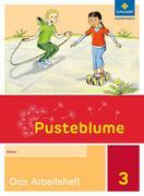 Pusteblume. Das Sprachbuch 3. Arbeitsheft. Allgemeine Ausgabe
