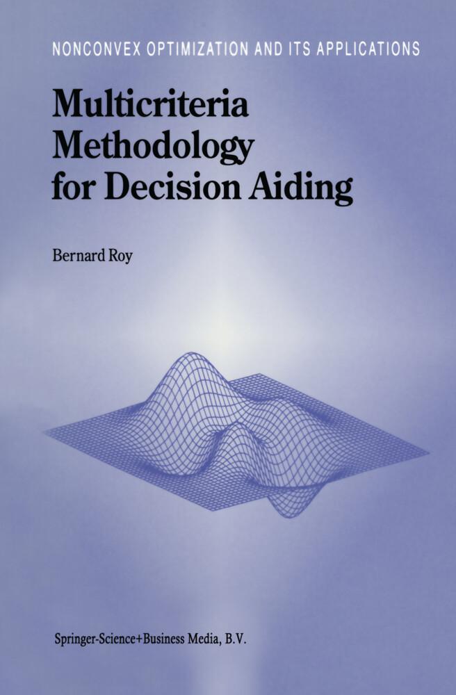 Multicriteria Methodology for Decision Aiding als Buch