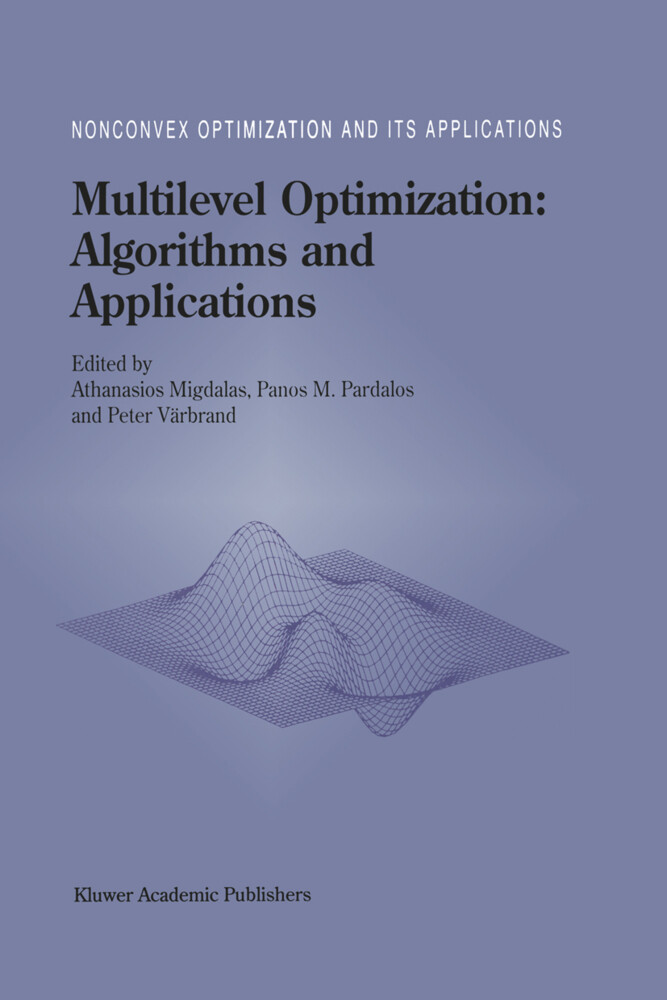 Multilevel Optimization: Algorithms and Applications als Buch